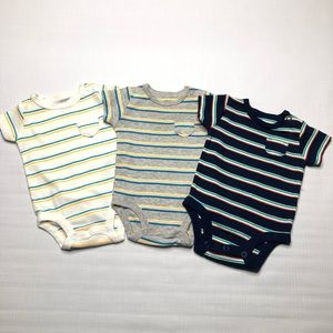 Carters Infant Boy One Piece Shirts with Pockets